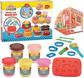 Art Craft Birthday Cake Play Dough 03277