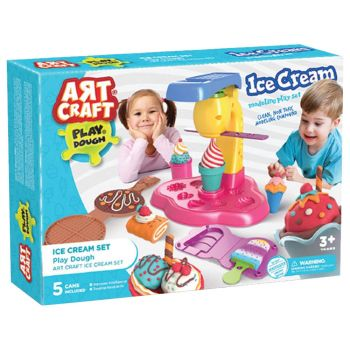 Art Craft Ice Cream Play Dough Set 03489