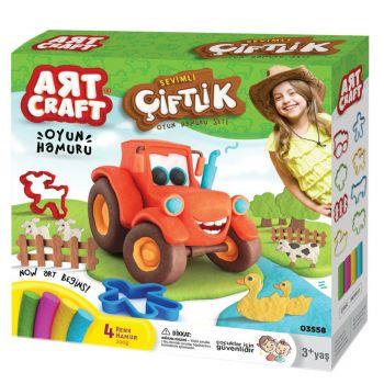 Art Craft Farm Dough Set 03558