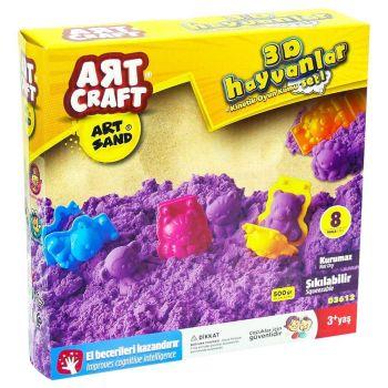 Art Craft Animals Modeling Play Sand Set 03612