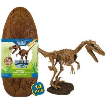 Dr Steve Hunters Jurassic Eggs Velociraptor Assembly Set 91059