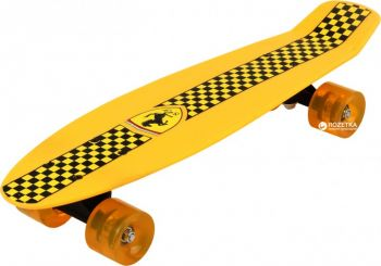 Ferrari Penny Board Skateboard Black
