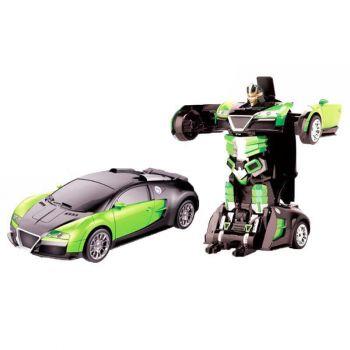2.4Ghz R/C Transformable Robot Jeep - Green- TT656