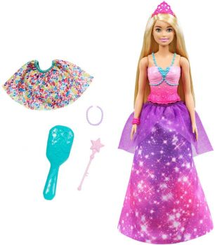 Barbie Dreamtopia 2-in-1 Princess to Mermaid Fashion GTF92