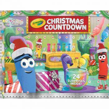 Crayola Christmas Countdown Advent Calendar Online in UAE