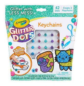 Crayola Glitter Dots Keychains Online in UAE