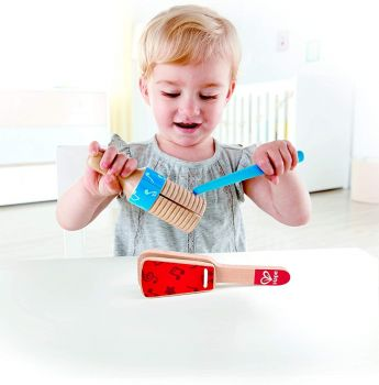 Hape Wooden Percussion Duo Set