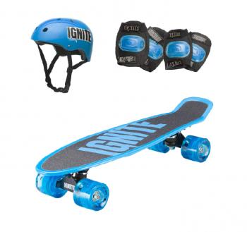 Ignite Tyro Skateboard Combo Pack Blue - Online in UAE