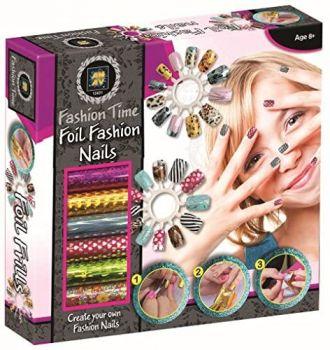 Fashion Time Foil Fashion Nails 12431