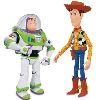 Toy Story Buzz and Woody Walkie Talkie 140400