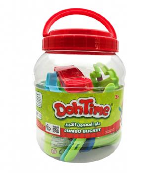 Doh time Arts & Crafts Jumbo Bucket 6 Color Dough