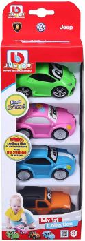 BBJunior My 1st Collection Cars 4 Pack 16-85125