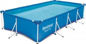 Bestway Steel Pro Power Pro Rectangular Frame Pool 4.00m x 2.11m x 81cm Online in UAE