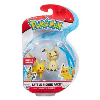 Pokemon Battle Figure Pack Mimikyu Pikachu Online in UAE