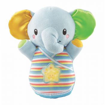 VTech Snooze & Soothe Elephant Blue Baby Plush Toy Online in UAE