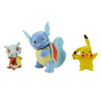 Pokemon Cubone Pikachu and Wartortle Battle Figure 3 Pack Online in UAE