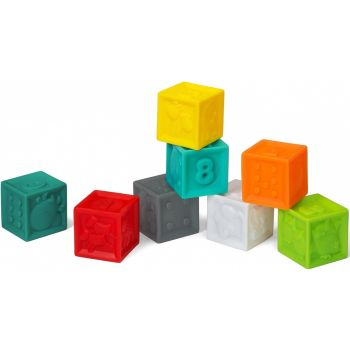 Infantino Squeeze & Stack Block 8pcs Online in UAE