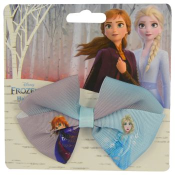 Frozen Hair Bow With Print