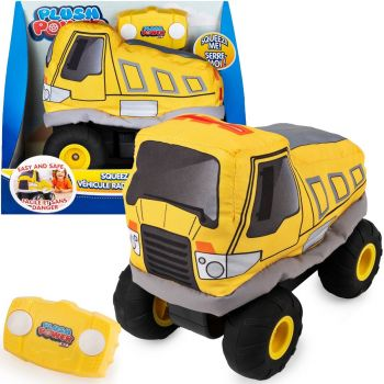 Plush Power Squeezable RC Racer Dumptruck 6055122