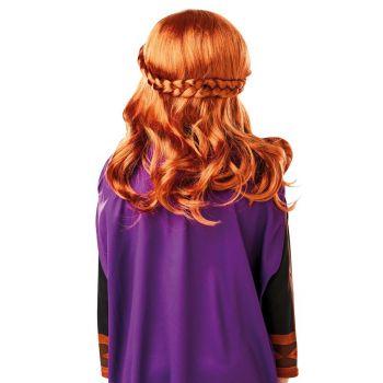 Disney Frozen 2 Classic Princess Anna Wig Costume Accessory
