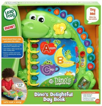 LeapFrog Dino's Delightful Day ABC Book 80-600503