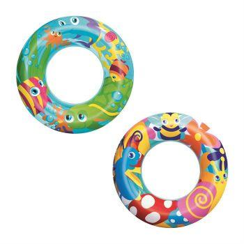 Bestway 56cm Designer Swim Ring - 36013