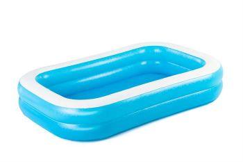 Bestway Blue Rectangular Pool 87x69x20 inch 54006