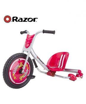 Razor Flash Rider Machine 360 V2 Tricycle Red Online in UAE