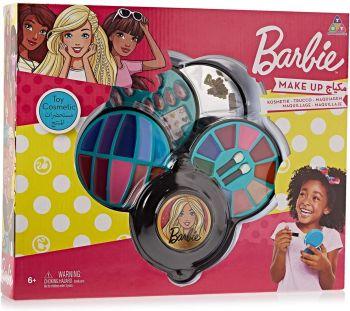 Barbie 4 Decks Round Cosmetic Case