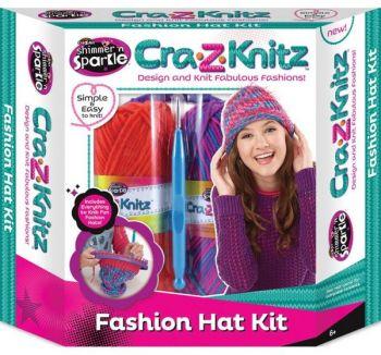 Cra-Z-Art Cra-z-Knitz Fshion Hat Kit NB908977
