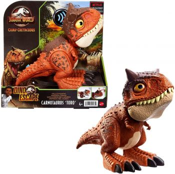 Jurassic World Camp Cretaceous Carnotaurus Toro Dinosaur Action HBY84