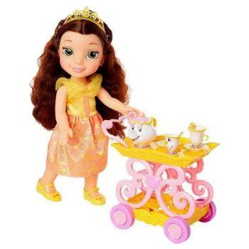 Disney Princess Belle Doll & Tea Trolley My First 12inch 201014