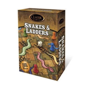 Classic Games Snakes & Ladders 1016