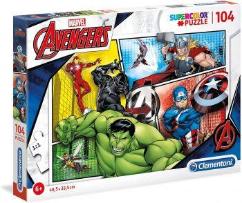Clementoni Marvel Avengers 3D Puzzle1  104pcs 20606