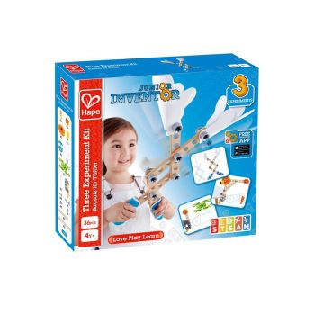 Hape Junior Inventor Three Experiment Kit E3030