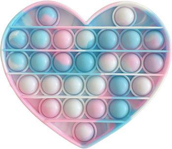 Heart Fidget Popper Camouflage Assorted 211291