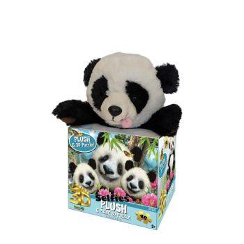 Howard Robinson Panda Selfie 3D Puzzle with Plush 48 Pieces 15800
