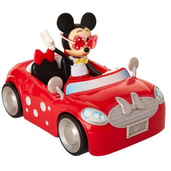 Disney Minnie Mouse Drive Mini Cooper with Doll Set 20946