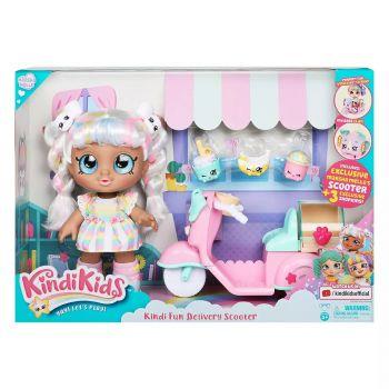 Kindi Kids Kindi Fun Delivery Scooter with Marsha Mello Doll 50047