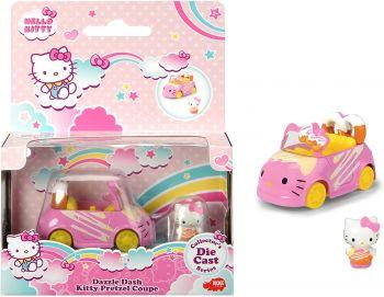 Jada Hello Kitty Dazzle Dash Kitty Pretzel Car 253241003