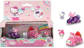 Hello Kitty Macaroon + Melody Watermelon Car 253242003