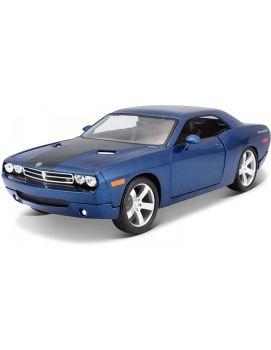 Maisto 1:18 Diecast Special Edition 2006 Dodge Challenger Concept Blue 31396