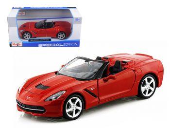 Maisto 1:24 2014 Corvette Stingray Convertible Assorted 31501
