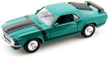 Maisto 1:24 Scale 1970 Ford Mustang Boss 302 Green 31943