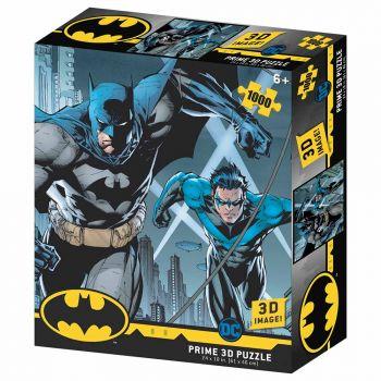 Prime 3D DC Comics Batman & Nightwing 1000pcs Puzzle 32598