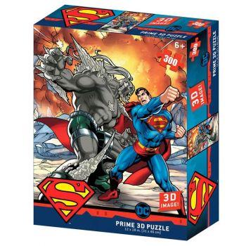 Prime 3D Puzzles DC Comics Superman vs Doomsday 300 pcs Puzzle 33004