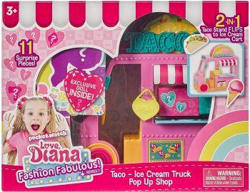 Love Diana Pop Up Playset Taco Ice Cream Truck 33041