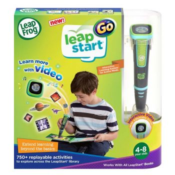 LeapFrog LeapStart Go System Charcoal and Green 80-605900
