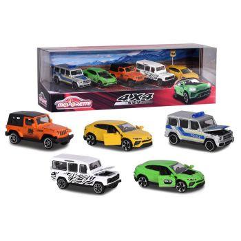 Majorette 1-64 5 Cars Set SUV Gift Pack 212053169