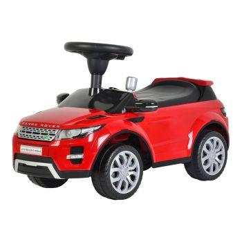 Range Rover Pushing Car Red 348